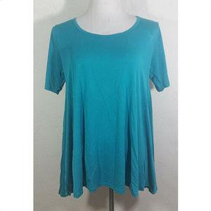 LuLaRoe Small Top Simply Comfortable Blue Tunic